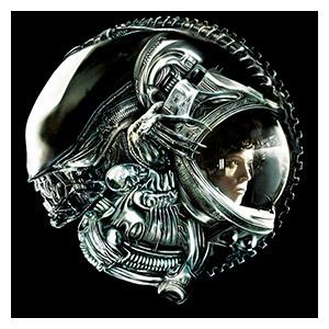 Alien. Размер: 60 х 60 см